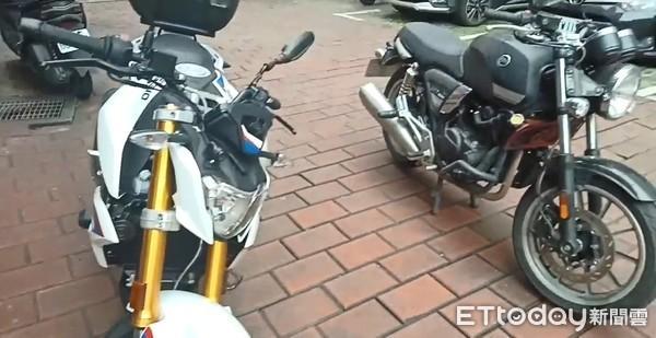 偷車慣犯騎BMW重機攜毒趴趴走 隨身帶「全套吃飯工具」警傻眼