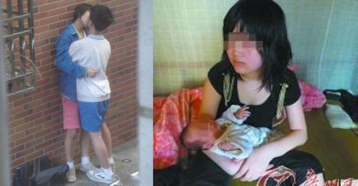 屁孩國中生男友讓她14歲就懷孕!父母看到驗孕棒竟然...4年後的結局讓我意想不到啊!