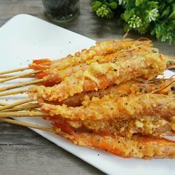 香酥蛋黃蝦